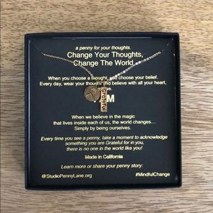 Jewelry - Petite Penny Grateful necklace